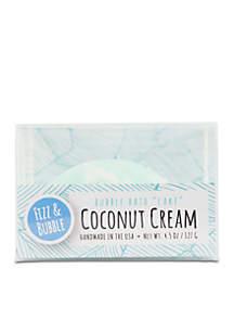 Coconut Cream Bubble Cake