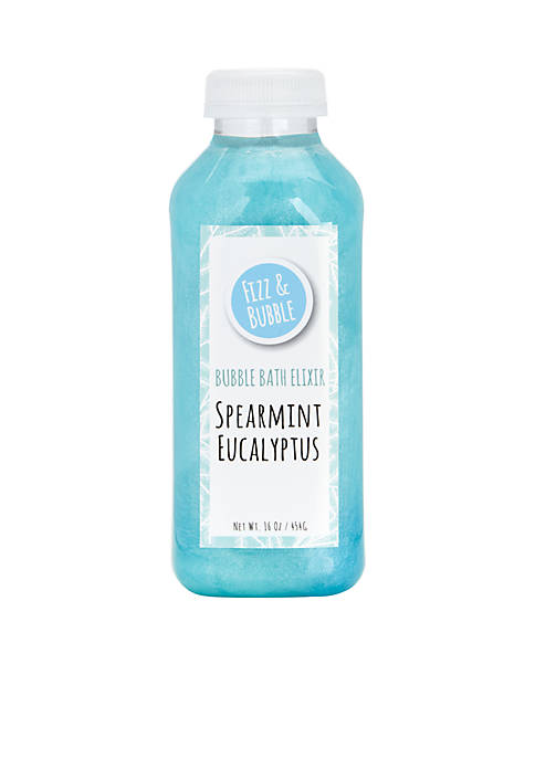 Fizz & Bubble Spearmint Eucalyptus Bubble Bath Elixir