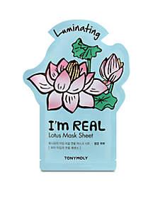 I'm Real Lotus Sheet Mask