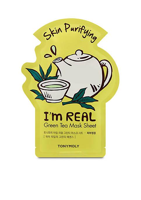 TONYMOLY Im Real Green Tea Sheet Mask