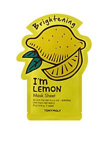 I'm Lemon Sheet Mask