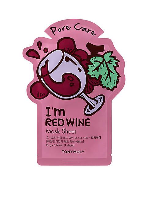 I'm Red Wine Sheet Mask