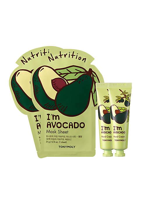 Im Avocado Mask & Hand Cream Set