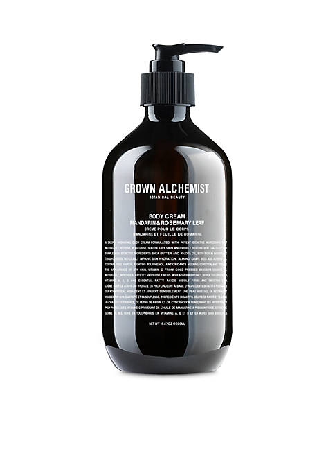 GROWN ALCHEMIST Body Cream: Mandarin & Rosemary Leaf