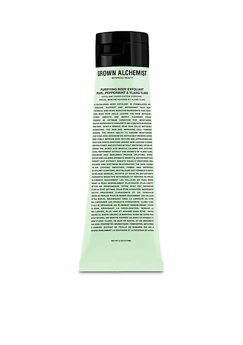GROWN ALCHEMIST Purifying Body Exfoliant: Pearl, Peppermint &