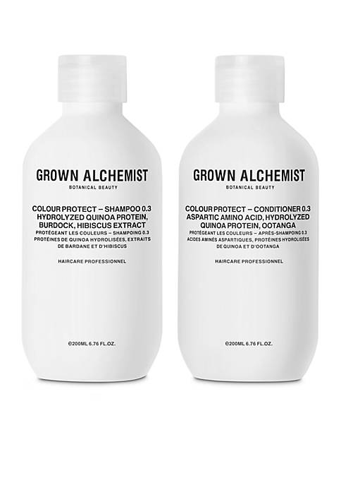 GROWN ALCHEMIST Colour Protect 0.3 Haircare Set