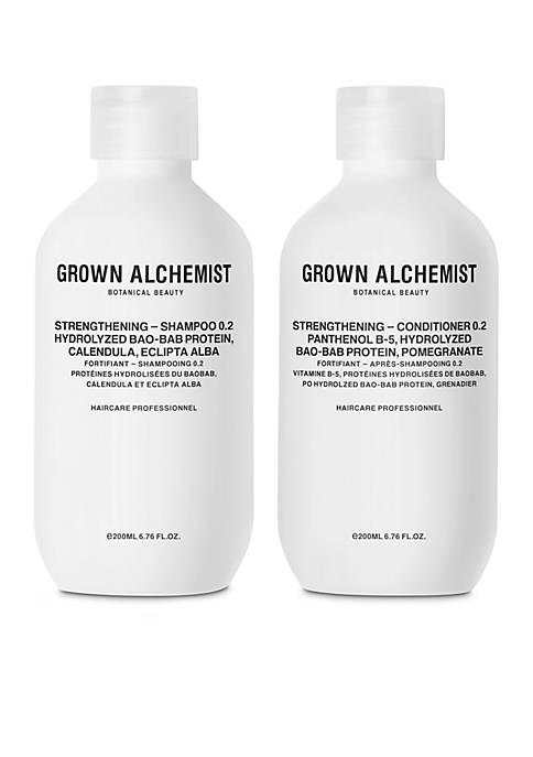 GROWN ALCHEMIST Strengthening 0.2 Haircare Set