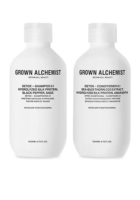 GROWN ALCHEMIST Detox Haircare Set