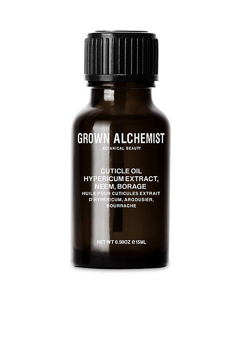 GROWN ALCHEMIST Cuticle Oil: Hypericum, Neem, Borage