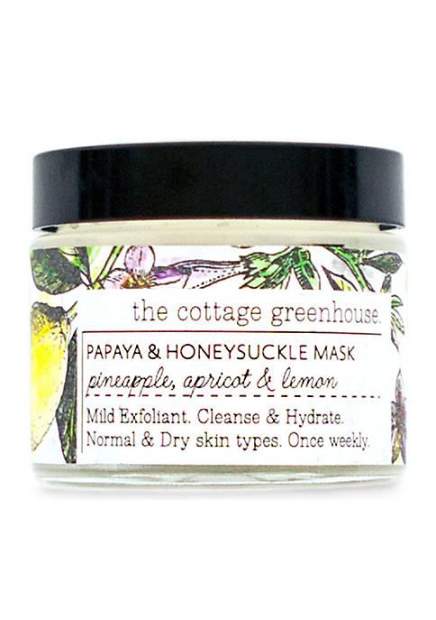Papaya & Honeysuckle Face Mask