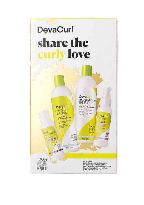 DevaCurl Share The Curly Love kit