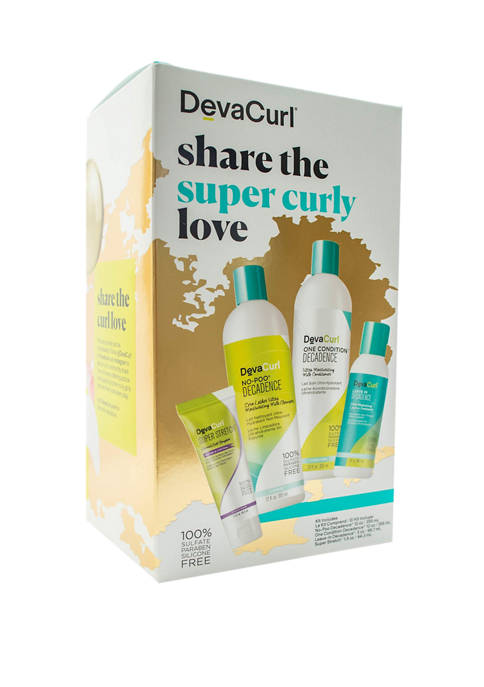 DevaCurl Share The Super Curly Love kit
