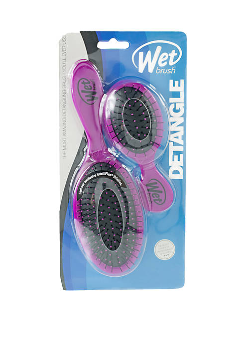 Wet Brush Original + Mini Detangler Brush Duo