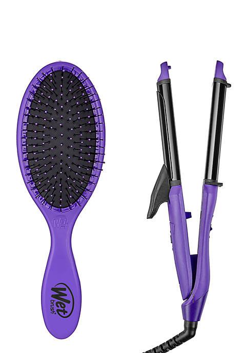 Wet Brush Original Detangler + Styling Iron 2-in-1