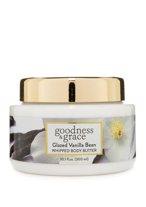 Glazed Vanilla Bean Whipped Body Butter