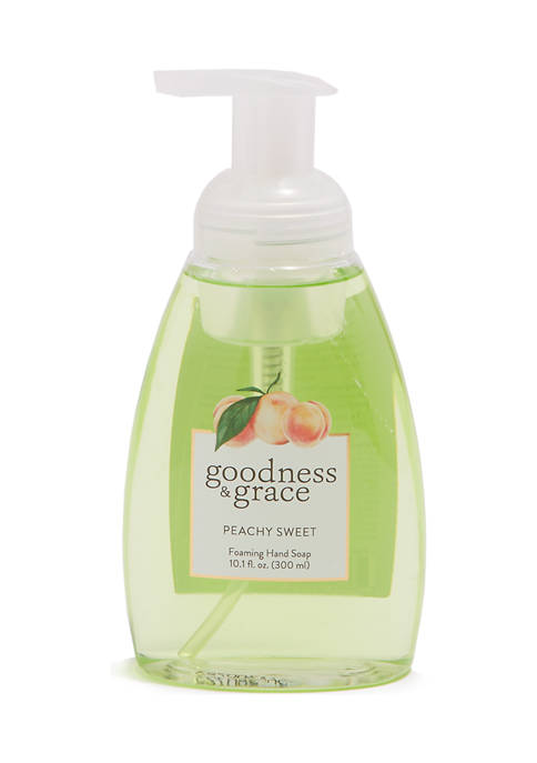 goodness & grace Peachy Sweet Foaming Hand Soap