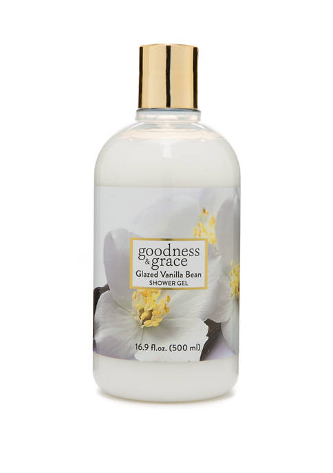 goodness & grace Glazed Vanilla Bean Shower Gel