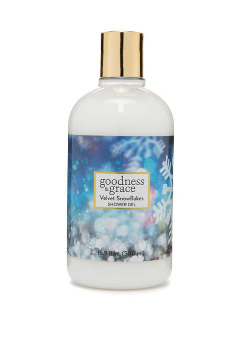 goodness & grace Velvet Snowflakes Shower Gel