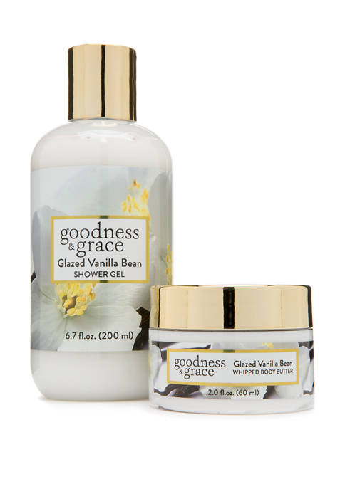 goodness & grace Glazed Vanilla Bean Whipped Body