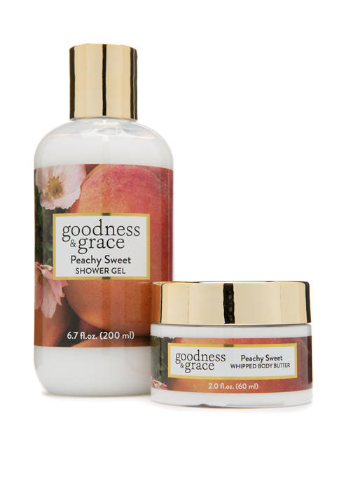 goodness & grace Peachy Sweet Whipped Body Butter