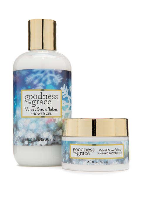 goodness & grace Velvet Snowflakes Whipped Body Butter
