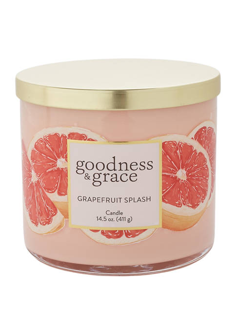 Grapefruit Splash 3 Wick Candle