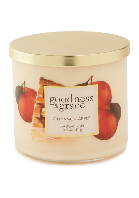3 Wick Candle- Golden Apple Pie