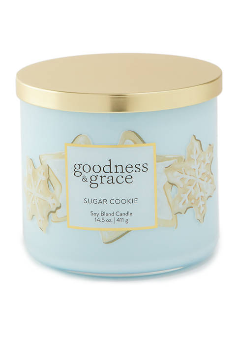 3 Wick Candle- Sugar Cookie