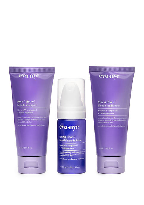 Eva NYC #Smartblonde Hair Care Travel Set