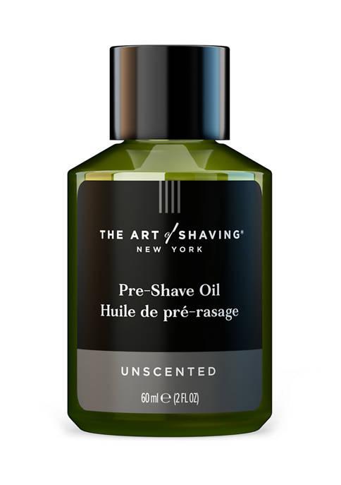Unscented Pre-Shave Oil, 2 oz.