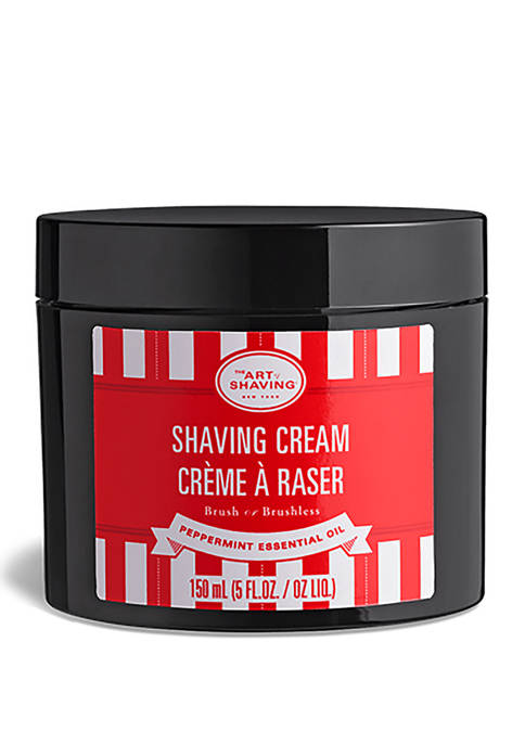 Art of Shaving Peppermint Shaving Cream, 5 oz