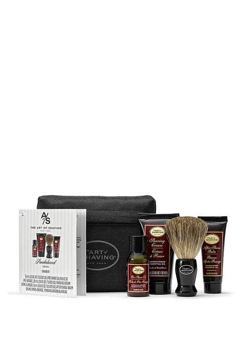 Art of Shaving Sandalwood Starter Kit with Bag