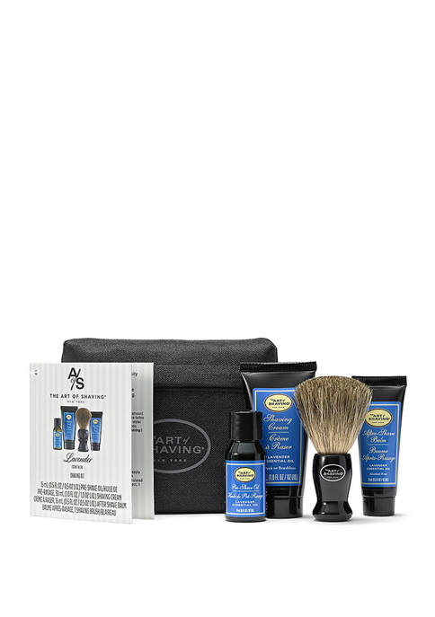 Art of Shaving Lavender Starter Kit With Bag