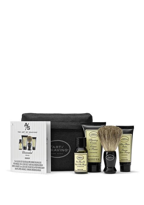 Art of Shaving Starter Kit with Bag, Unscented