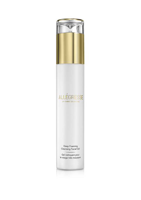 Allegresse 24 Karat Skin Care Deep Foaming Cleansing