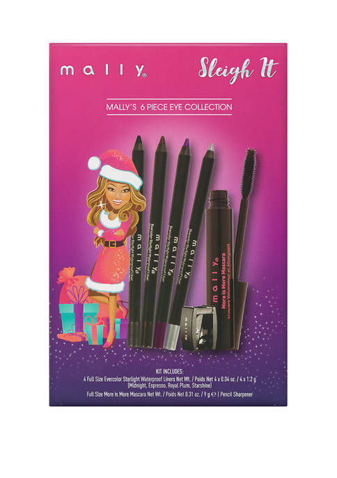 Mally Beauty Sleigh It 6-Piece Eye Collection