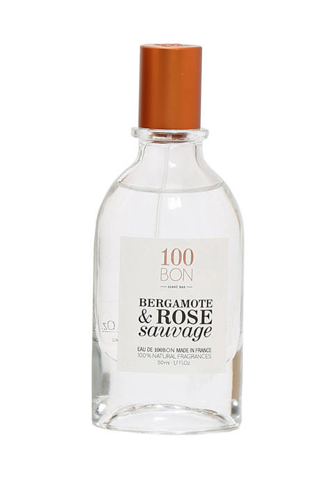 100BON Bergamote & Rose Sauvage Fragrance Spray