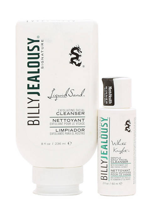Billy Jealousy Gentle Liquid Sand Exfoliator and White