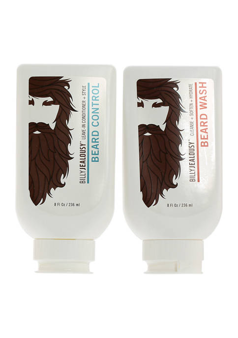 Billy Jealousy Duo Shave Beard Wash Beard Control