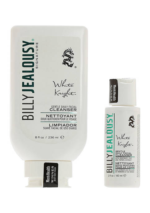 Billy Jealousy White Knight Daily Facial Cleanser Duo