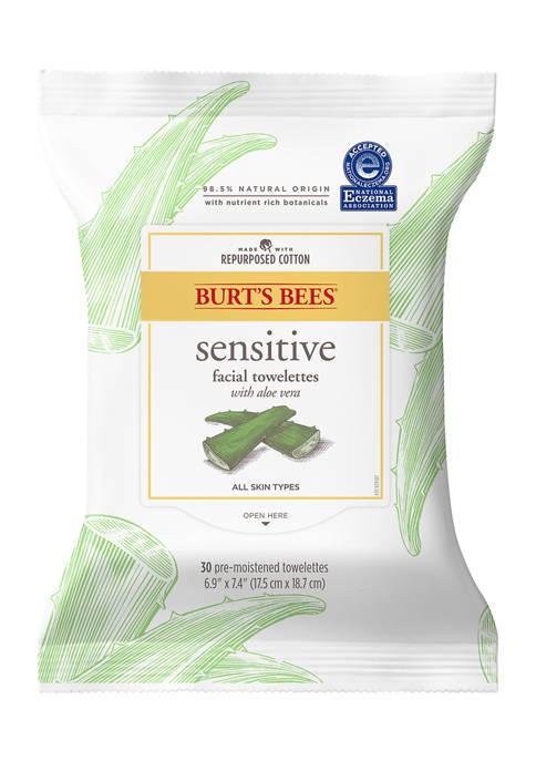 Burt's Bees Facial Cleansing Towelettes, Sensitive