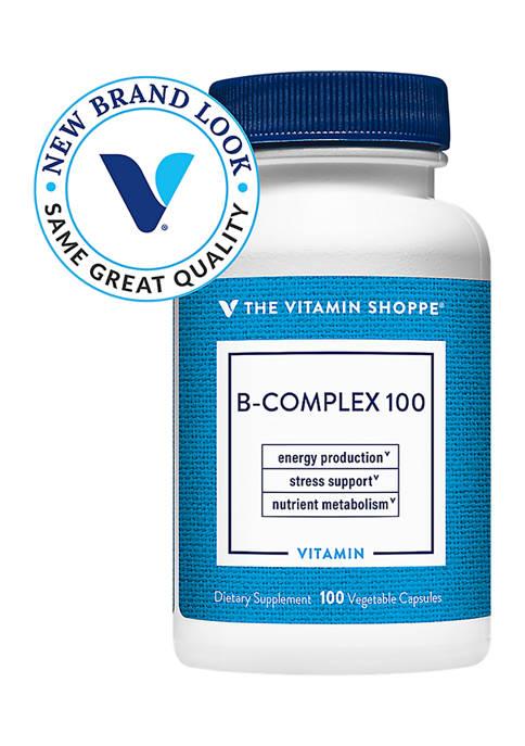 Vitamin B-Complex 100 (100 Vegetarian Capsules)