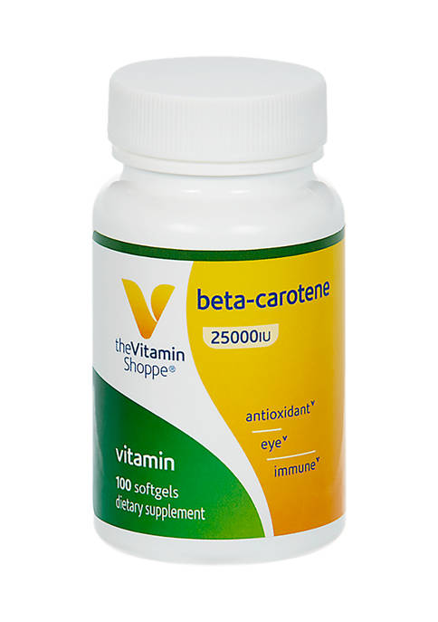 The Vitamin Shoppe® Beta Carotene Antioxidant