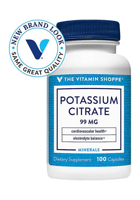 Potassium Citrate - 99 MG (100 Capsules)