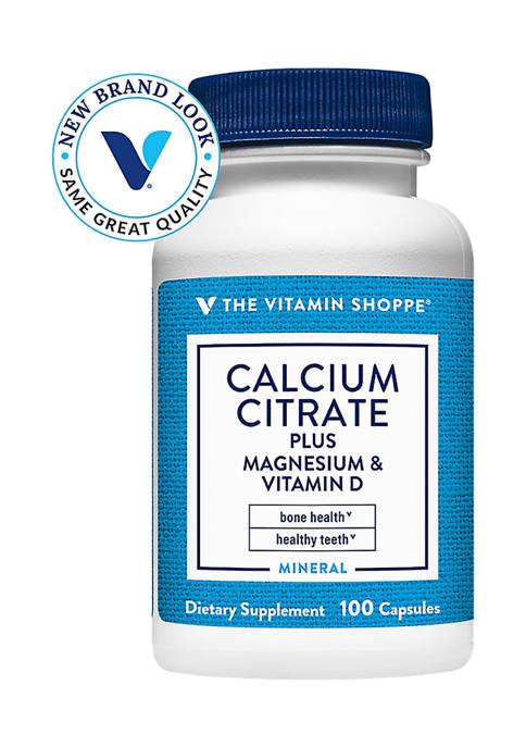 The Vitamin Shoppe® Calcium Citrate with Magnesium &
