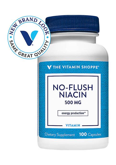 No Flush Niacin - 500 MG (100 Capsules)