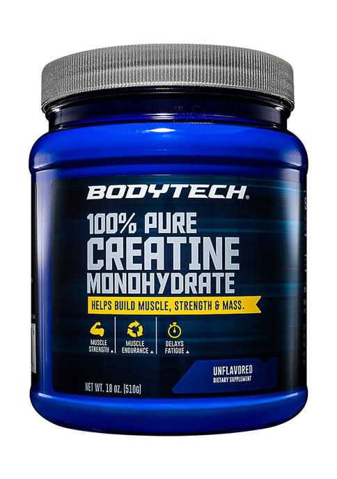 100 Percent Pure Creatine Monohydrate Powder - Unflavored (18 Ounce / 102 Servings)