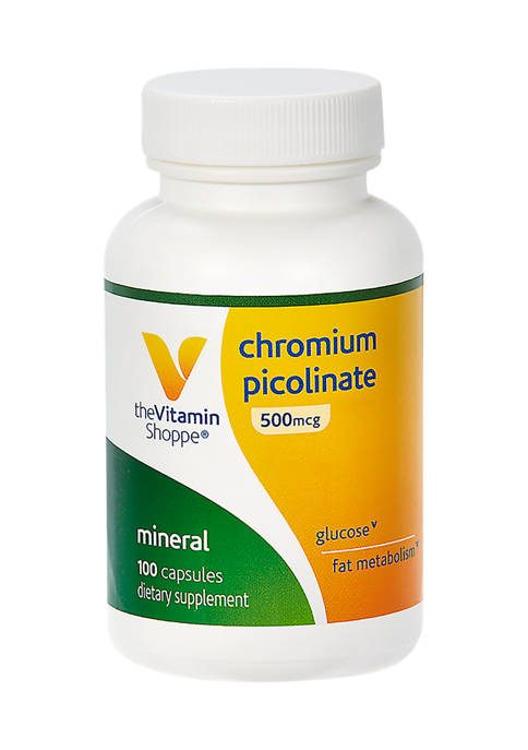 The Vitamin Shoppe® Chromium Picolinate