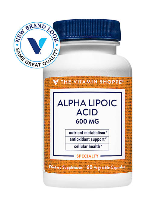 The Vitamin Shoppe® Alpha Lipoic Acid Antioxidant