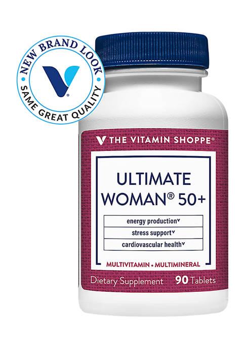 Ultimate Woman 50+ Multivitamin & Multimineral - High Potency (90 Tablets)
